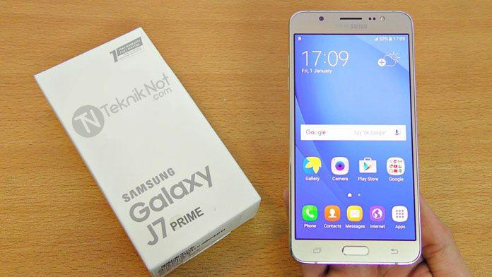 Samsung Galaxy J7 Prime Root Yapma, TWRP Yükleme