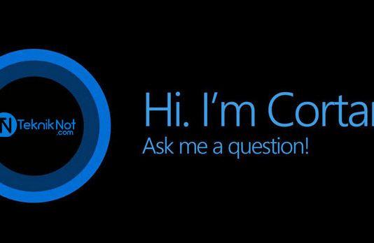 Windows 10'da Cortana'yı Devre Dışı Bırakma