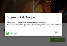 Play Store Uygulama indirilemiyor Hata kodu Sorunları Çözümü