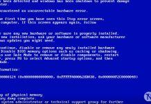 Windows 0x00000124 Mavi Ekran Hatası ve Çözüm yolları