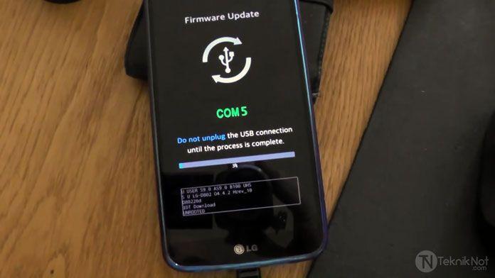 LG Stock ROM Yükleme, LG Telefonlara Yazılım Yükleme