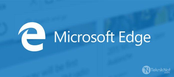 Microsoft Edge Ana Sayfa Değiştirme